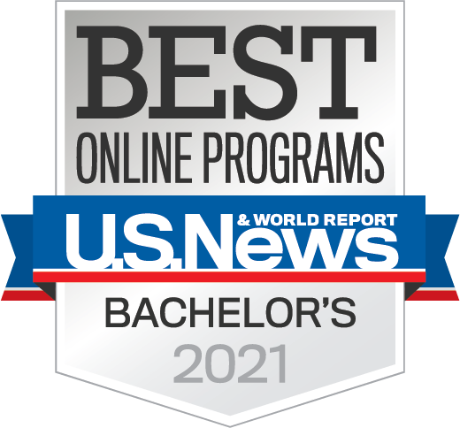 U.S. News Best Online Bachelor's Degree Program 2021